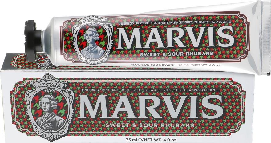 """Зубная паста """"Кисло-сладкий ревень"""" - Marvis Sweet & Sour Rhubarb"""