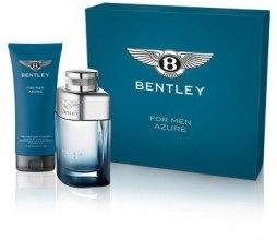 Духи, Парфюмерия, косметика Bentley Bentley For Men Azure - Набор (edt 100ml + hair&gel 200ml)