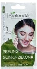 Духи, Парфюмерия, косметика Крупнозернистый пилинг + зеленая глина - Bielenda Professional Formula