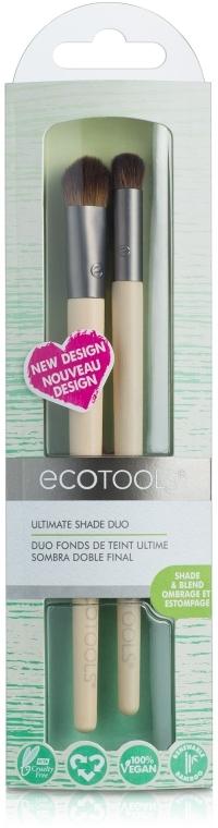Набор кистей для макияжа глаз - EcoTools Ultimate Shade Duo