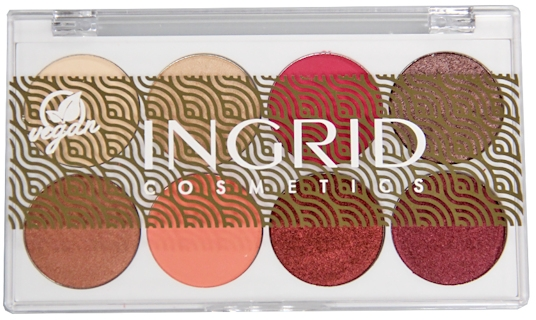 Палитра теней для век - Ingrid Cosmetics Bali Eyeshadows Palette