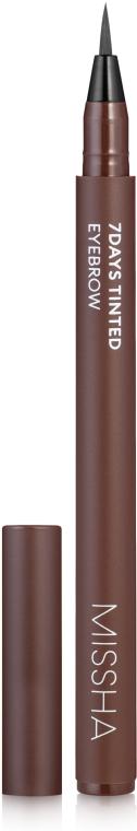 Гелевый тинт для бровей - Missha 7Days Tinted Eyebrow — фото N1