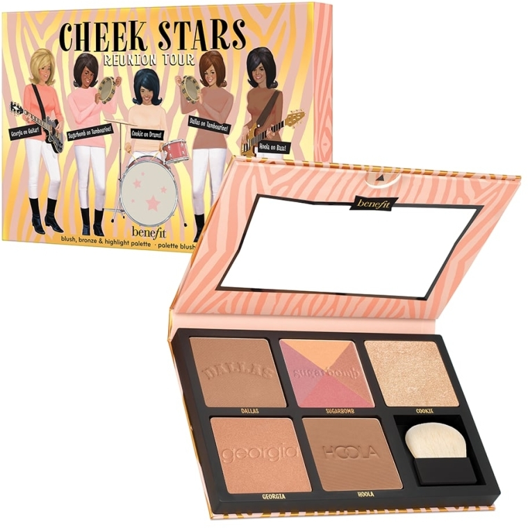 Палетка для макияжа - Benefit Cheek Stars Reunion Tour Palette