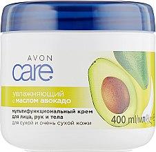 Духи, Парфюмерия, косметика Многофункциональный увлажняющий крем для лица, рук и тела с маслом авокадо - Avon Care Moisturizing Cream With Avocado