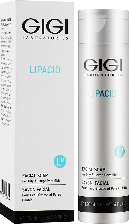 Рідке мило для обличчя - Gigi Lipacid Facial Soap — фото N2