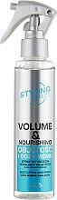 "Духи, Парфюмерия, косметика Спрей для волос ""Объем и питание"" - Joanna Styling Effect Volume & Nourishing Hair Spray"