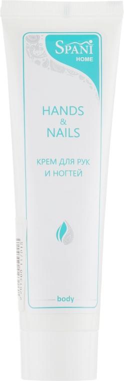 Питательный крем для рук и ногтей с минералами и чайным деревом - Spani Hands & Nails Cream