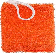"""Духи, Парфюмерия, косметика Мочалка для душа и ванны """"Энергия здоровья. Мини"""", оранжевая - Гарні речі"""