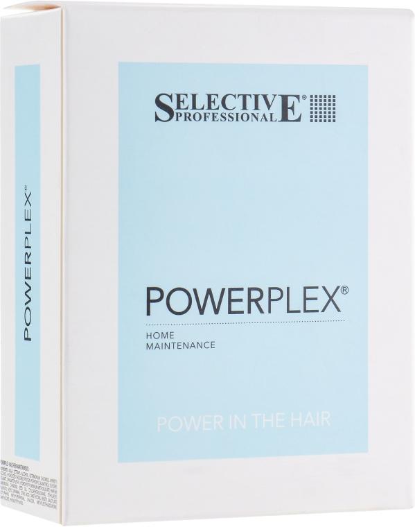 Набор - Selective Professional Powerplex (mask/100 ml + shamp/100 ml)