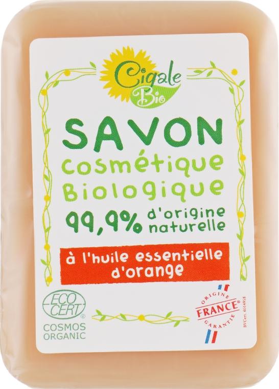 Мыло тонизирующее с маслом апельсина - La Cigale Bio Soap