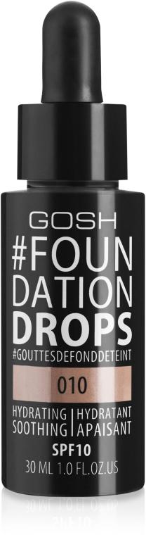 Тональный крем - Gosh Copenhagen Foundation Drops SPF10