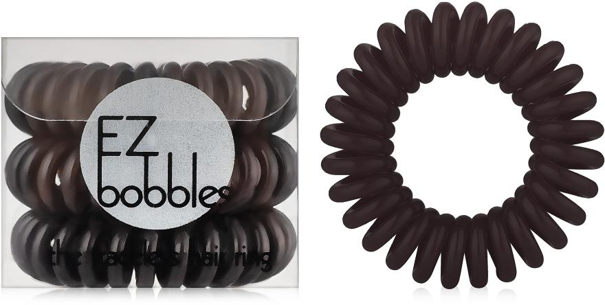 Резинка для волос, коричневая - EZ Bobbles