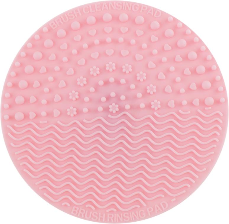 Коврик для мытья кистей средний, розовый - Miss Claire