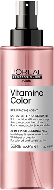 Многофункциональный спрей для окрашенных волос - L'Oreal Professionnel Serie Expert Vitamino Color A-OX 10 in 1