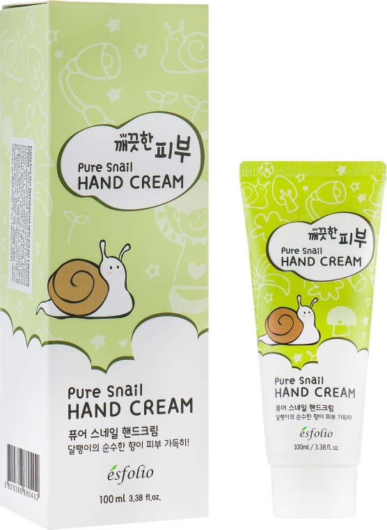 Крем для рук - Esfolio Pure Skin Pure Snail Hand Cream