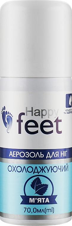 """Аэрозоль для ног """"Охлаждающий. Мята"""" - Красота и Здоровье Happy Feet"""