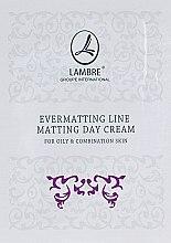 Духи, Парфюмерия, косметика Крем для лица матирующий, дневной - Lambre Evermatting Line Matting Day Cream (пробник)