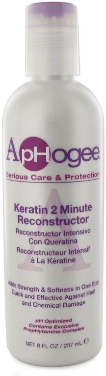 Кератиновый 2-минутный реконструктор для волос - ApHogee Keratin 2 Minute Reconstructor Hair