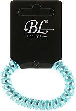 Духи, Парфюмерия, косметика Резинка для волос, 405003, голубой хром - Beauty Line