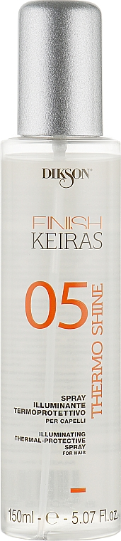 Спрей-блеск для волос - Dikson Finish Keiras Illuminating Thermal-Protective Spray 05