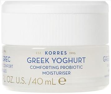 Увлажняющий крем с греческим йогуртом для нормальной и комбинированной кожи - Korres Greek Yoghurt Comfort Probiotic Moisturiser