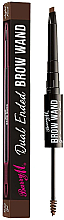 Духи, Парфюмерия, косметика Карандаш и гель для бровей - Barry M Cosmetics Brow Wand Dual Ended