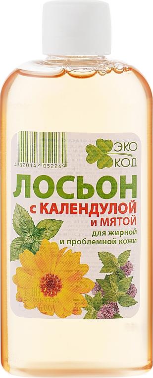 """Лосьон для лица """"ЭкоКод с календулой и мятой"""" - Аромат"""