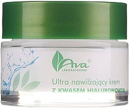 Парфумерія, косметика Ультразволожувальний крем з гіалуроновою кислотою - AVA Laboratorium Ultra Moisturizing Hyaluronic Cream