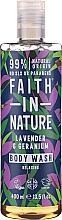 Духи, Парфюмерия, косметика Гель для душа - Faith in Nature Lavender & Geranium Body Wash