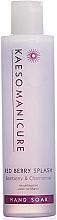 Духи, Парфюмерия, косметика Очищающее средство для рук - Kaeso Red Berry Splash Manicure Hand Soak