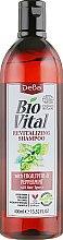 Духи, Парфюмерия, косметика Шампунь для волос с мятой и эвкалиптом - DeBa Bio Vital Revitalizing Shampoo