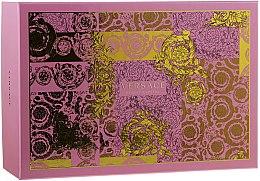 Духи, Парфюмерия, косметика Versace Bright Crystal - Набор (edt/90ml + edt/10ml + pounch)