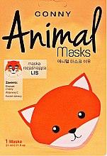 "Духи, Парфюмерия, косметика Маска для лица ""Лиса"" - Conny Animal Essence Mask"