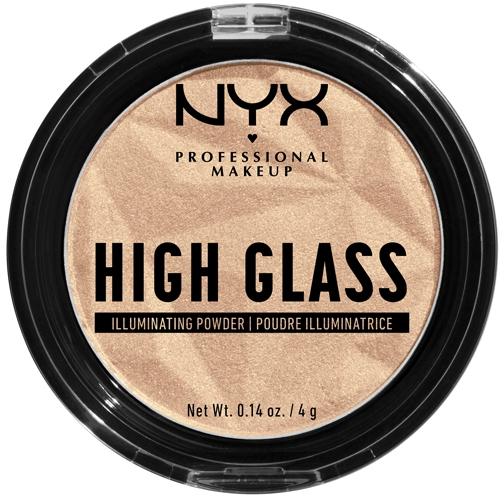 Пудра-хайлайтер для лица - NYX Professional Makeup High Glass Illuminating Powder