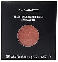 Духи, Парфюмерия, косметика Прозрачные мерцающие румяна - M.A.C Sheertone Shimmer Blush Refill (сменный блок)
