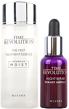 Духи, Парфюмерия, косметика Набор - Missha Time Revolution Best Seller Trial Set (f/ess/30ml + f/ser/10ml)