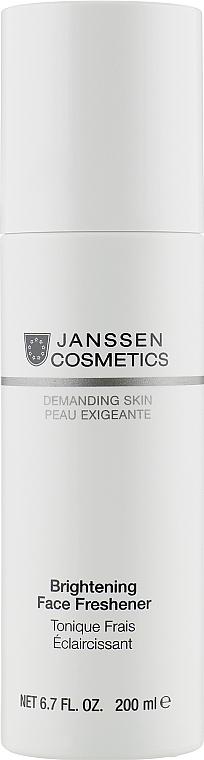Тоник для лица осветляющий - Janssen Cosmetics Brightening Face Freshener