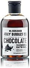 "Парфумерія, косметика Гель для душу ""Chocolate"" - Mr.Scrubber Jelly Bubbles Shower & Bath Gel"