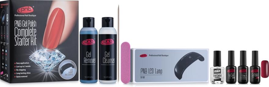 Стартовый набор - PNB Complete Gel Polish Starter Kit