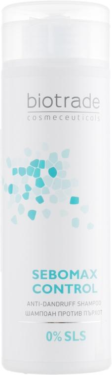 Безсульфатный шампунь против перхоти для всех типов волос - Biotrade Sebomax Control Anti-Dandruff Shampoo
