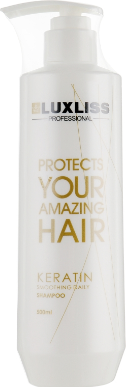 Кератиновый шампунь для домашнего ухода - Luxliss Keratin Daily Care Shampoo