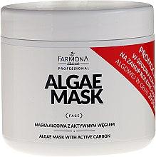 Духи, Парфюмерия, косметика Маска из водорослей с активированным углем - Farmona Professional Algae Mask With Active Carbon