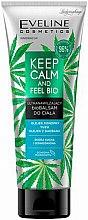 Духи, Парфюмерия, косметика Ультраувлажняющий биобальзам для тела - Eveline Cosmetics Keep Calm And Feel Bio