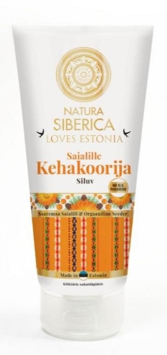 Скраб для тела с календулой разглаживающий - Natura Siberica Loves Estonia Calendula Body Scrub
