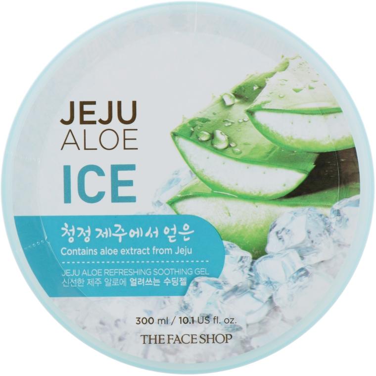 Освежающий гель c алоэ - The Face Shop Jeju Aloe Refreshing Soothing Gel
