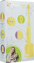 Духи, Парфюмерия, косметика Электрическая зубная щетка, желтая - Happy Dent MH1