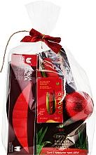 Духи, Парфюмерия, косметика Новогодний набор № 3 - Red Natural Gift Set 3 (toothpaste/100g + soap/100g + diet/suppl/30pcs + toy + post/card)