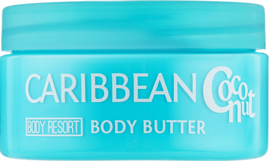 Крем-масло для тела ''Карибский кокос'' - Mades Cosmetics Body Resort Caribbean Coconut Body Butter