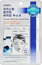 Духи, Парфюмерия, косметика Омолаживающая тканевая маска для лица с коллагеном - Mijin Junico Crystal All-In-One Facial Collagen Mask