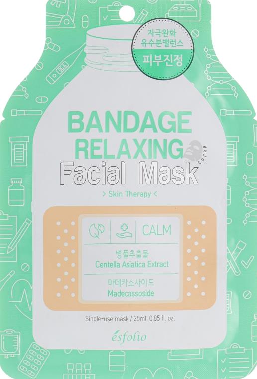 """Маска для лица """"Успокаивающая"""" - Esfolio Bandage Relaxing Facial Mask"""
